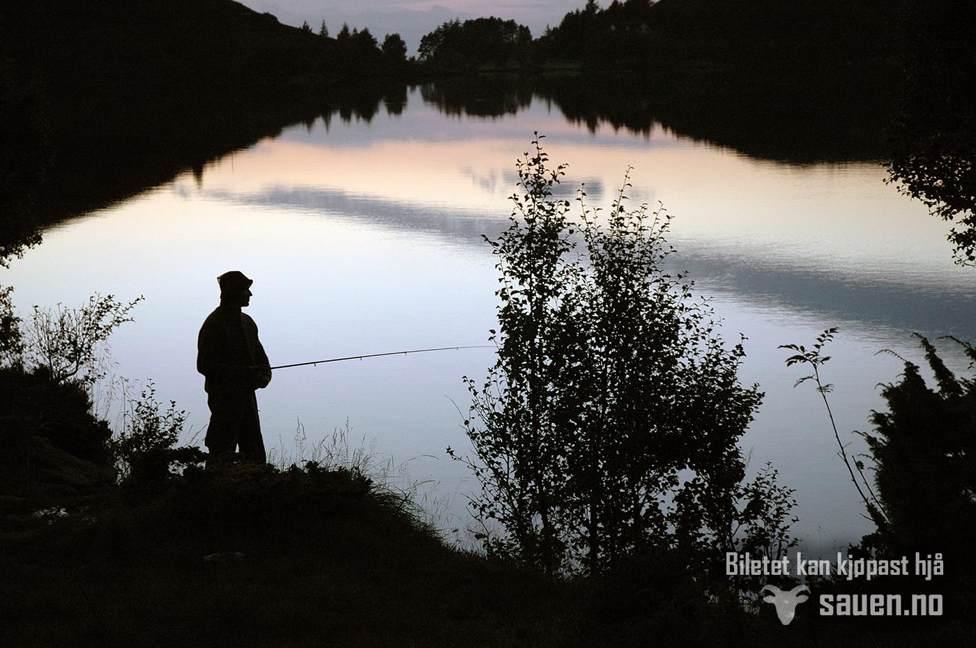 Nordfjord, fisketur, rekrerasjon, fjellvatnet