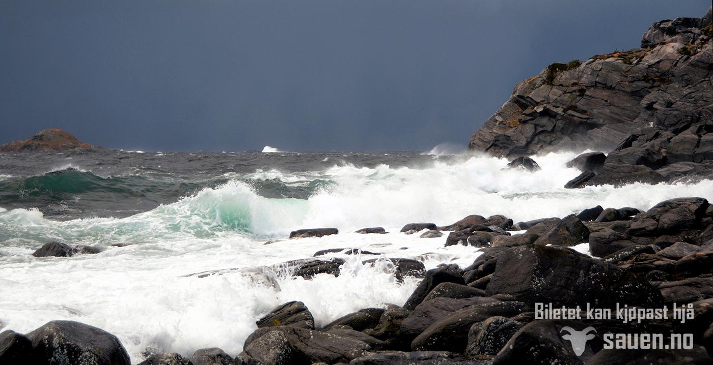 hav, bølger, nordfjord, barmen