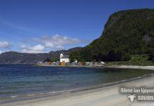 selje, Selje kyrkje, Seljesanden, Nordfjord